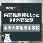 【早慶MARCH】大学の付属高校・中学校のまとめ(東京)